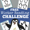 winter reading challenge and free book log