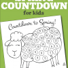 free printable countdown to spring