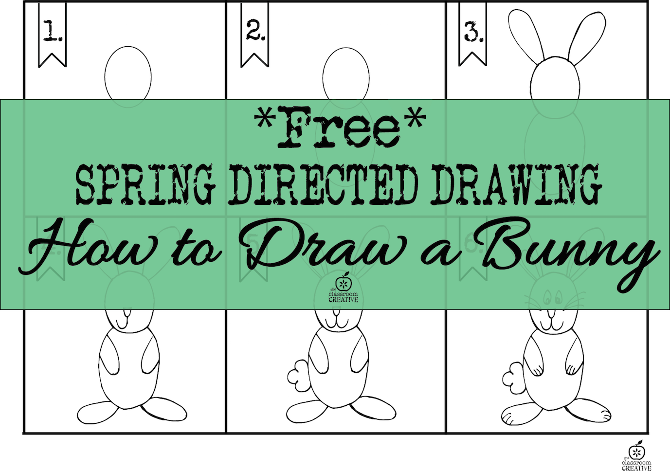 Grab Our How To Draw A Bunny Activity Here