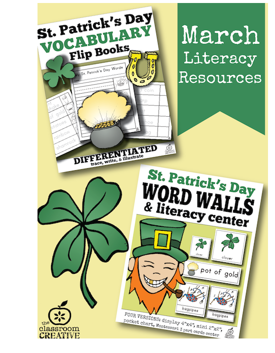 St. Patrick\'s Day Literacy Ideas for Second Grade
