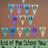 End of the chool Year Countdown Banner Idea