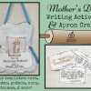 Mother's Day apron craft and recipe writing activity