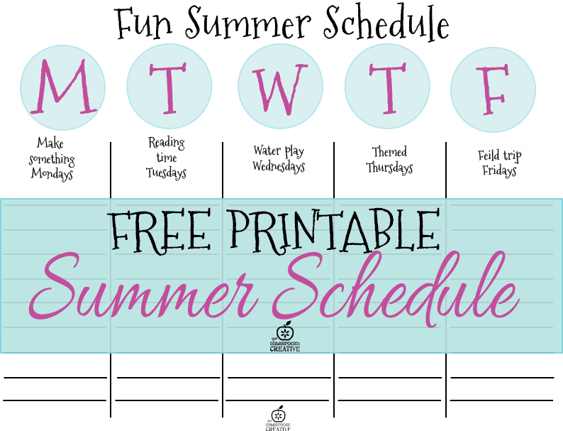 Kids Schedule Template. 32 best images about kids routines chores ...