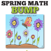 updated spring math bump math center for kindergarten and first grade
