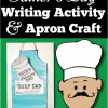 father's day writing activity and craft