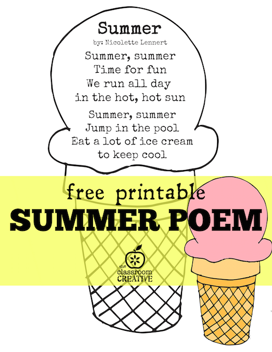 Image Gallery summer poems