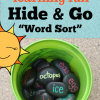 "Summer Learning Game: Hide and Go ""Word Sort""!"