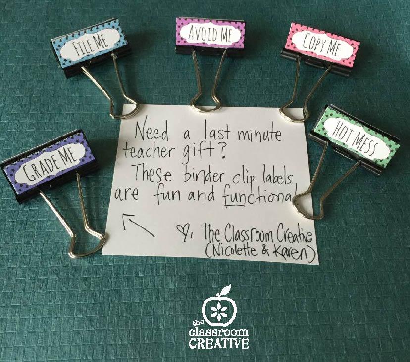 5 Last Minute Teacher Gift Ideas