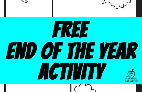 End of the School Year Superhero Activity
