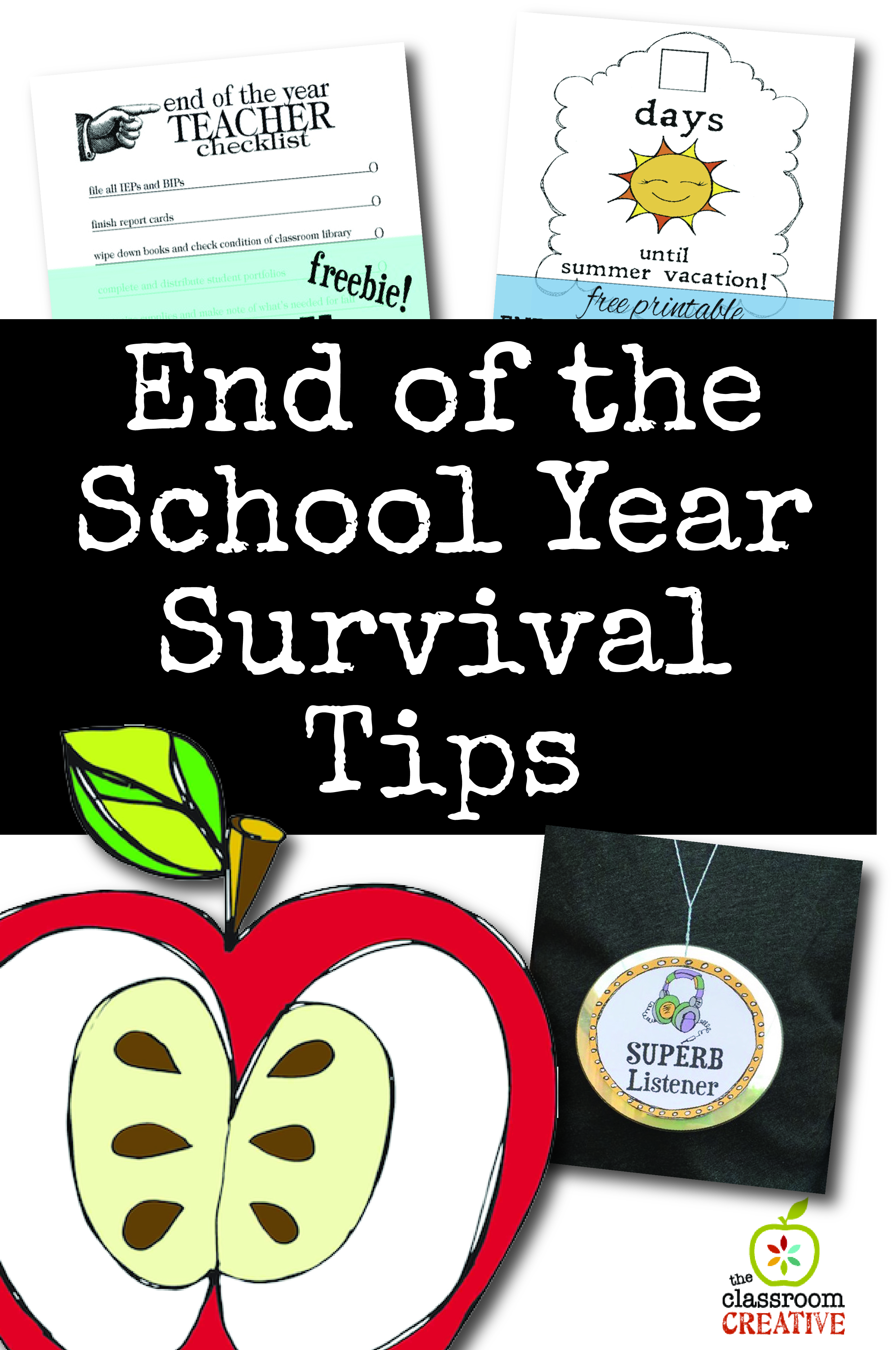 End of the Year Survival Tips for Teachers