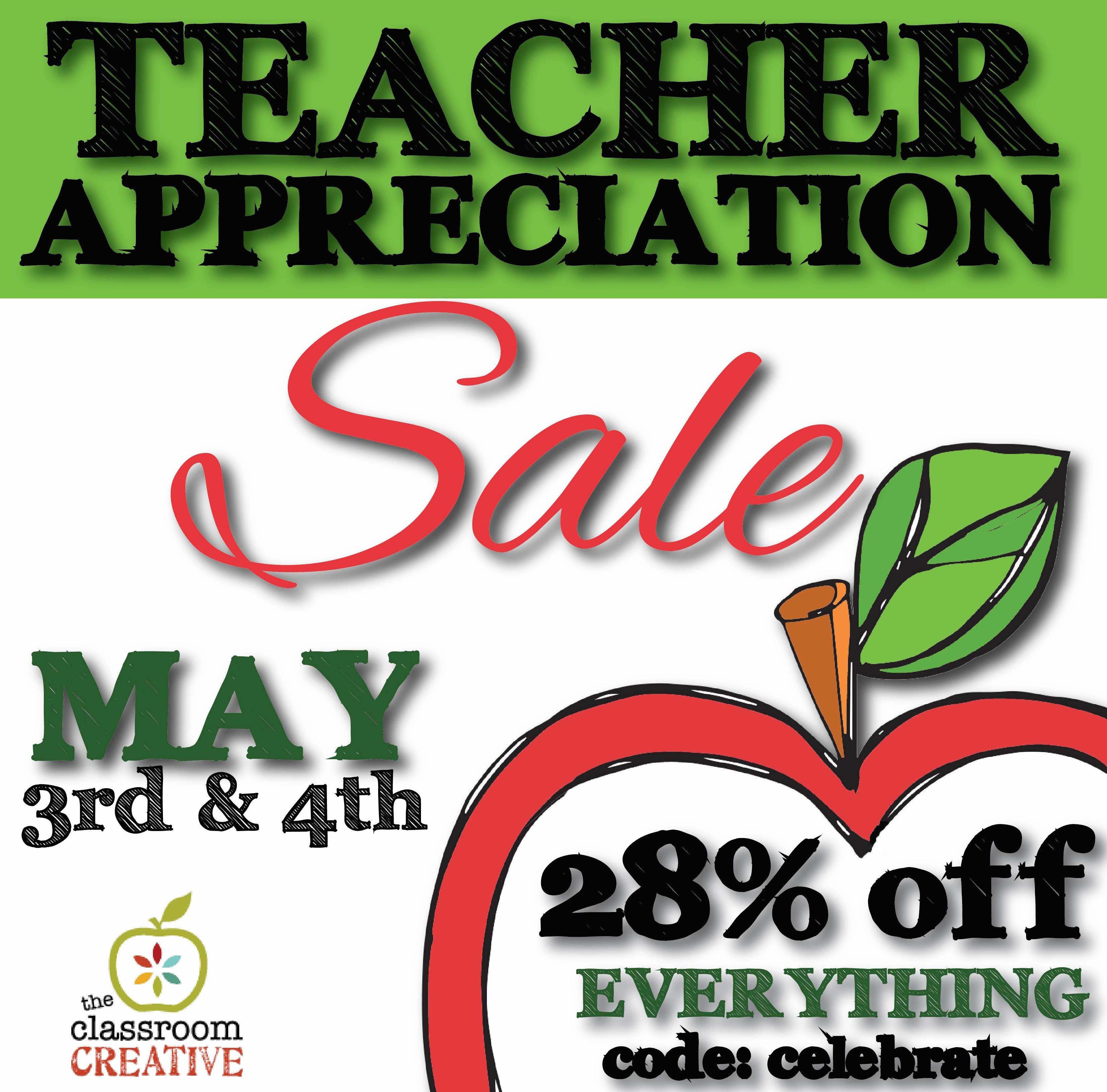 Teacher Appreciation Sale and Wishlist Top 3