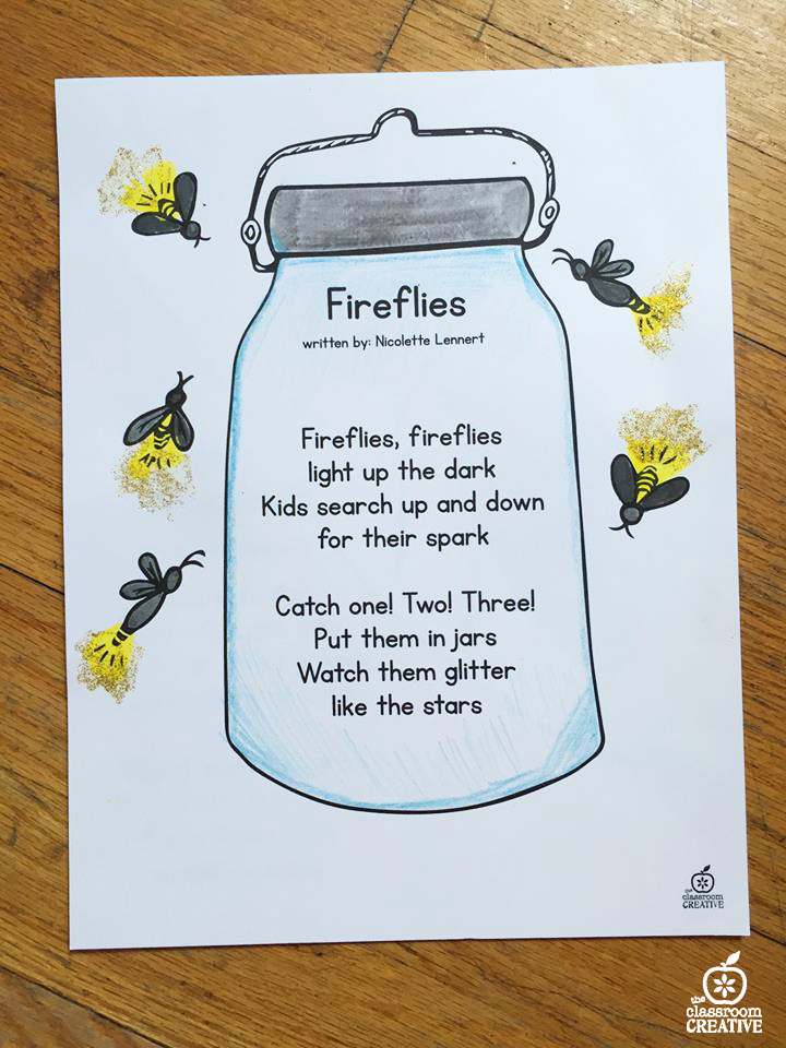 Firefly Facts For Preschoolers | grade fresh abc word study