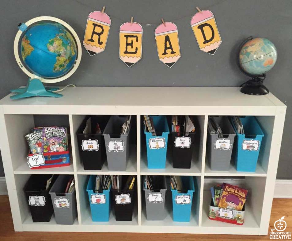 Classroom Library Ideas ~ Classroom library ideas organization and fun storage
