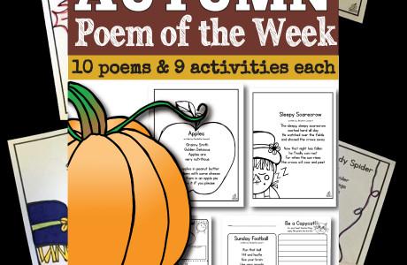 Fall Poem of the Week Unit and Freebie (Test Drive a Week Unit)