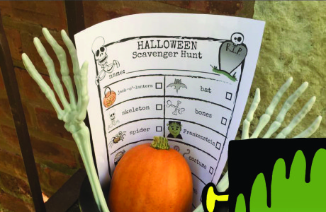 You've Been BOOED free printable: Halloween Fun Idea