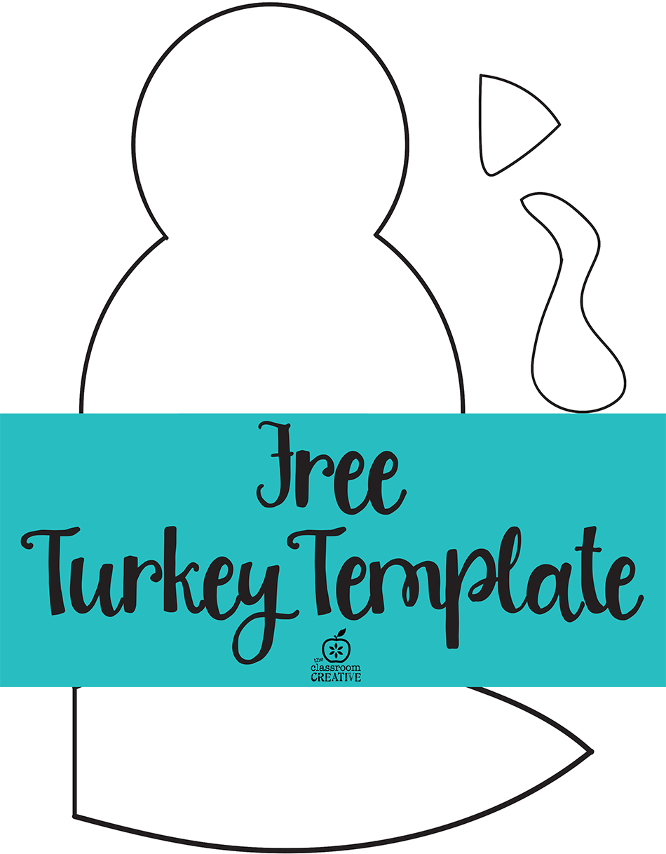 free thanksgiving templates - turkey craft for kids
