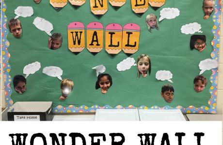 Bulletin Board Idea {Wonder Wall}