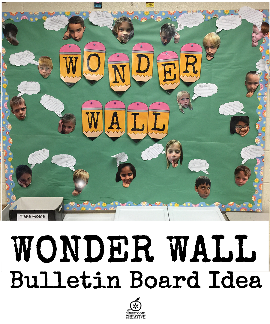 Bulletin Board Idea {Wonder Wall}