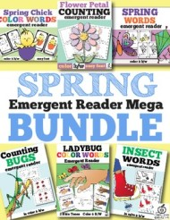 spring emergent reader bundle