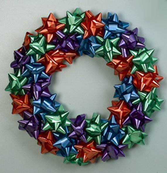 Ribbon Wreath Craft Projects