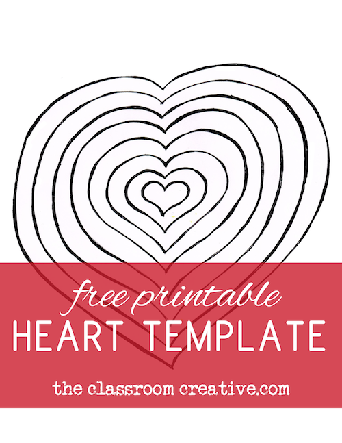 Number Names Worksheets free printable heart shape template : Poetry Activity for Valentine's Day with Free Printable Shape Poem ...