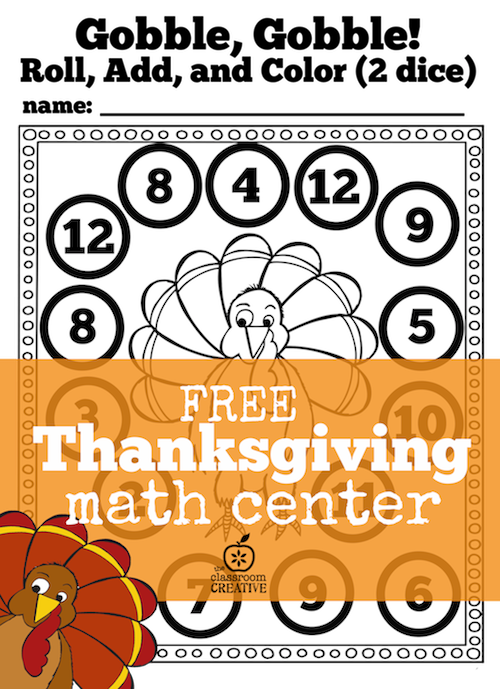 Thanksgiving Math Worksheets Pdf - philadelphiatracker